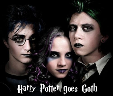 Harry Potter Goes Goth